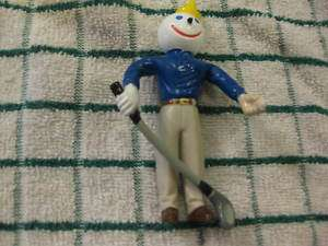 Jack in the Box Bendie Toy Golfer Golf