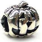 Auth Biagi Pumpkin Sterling Silver European Bead Charm