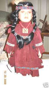 Knightsbridge Collection Porcelain Hand Painted Doll