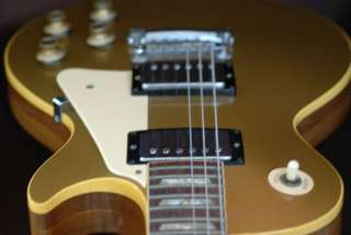 1972 Gibson Les Paul Deluxe Gold op Vinage Beauy |