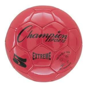 Sports Extreme Series Size 4 Soccer Ball   Red