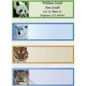 Endangered Species Set of 150 Address Labels Office