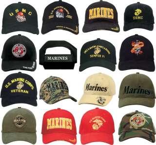 United States Marine Corps Adjustable Ball Cap USMC Hat