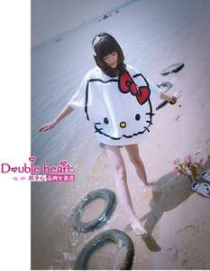 LOVELY LOOSE HELLO KITTY HOODIE SHIRT