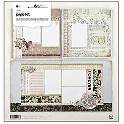 Cappella Basic Grey Scrapbooking Page Kit