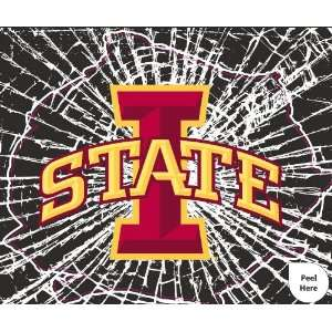 State Cyclones Shattered Auto Decal (12 x 10  inch)
