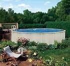 Reprieve 21 x 52 Round Above Ground Metal Frame Swimming Pool Kit