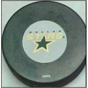 Dallas Stars NHL Logo Puck