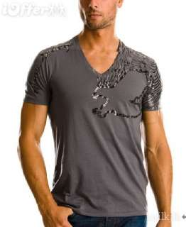 Armani Exchange AX Foil Eagel Logo Tee Shirt/Top