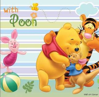 Winnie the Pooh Nursery Wall Border Art Sticker Decal