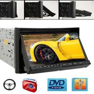 BRAND 72DIN CAR DVD PLAYER CAR STEREO RADIO MP3/CD/USB