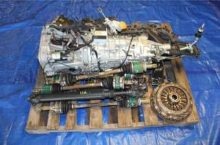2007 SUBARU IMPREZA WRX STI OEM 6 SPEED MANUAL TRANSMISSION SWAP 52K