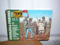 72 CONFEDERATE PIONEERS (CIVIL WAR)   REVELL # 2564