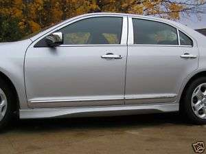 FORD FUSION Chrome Body Side Mouldings Trim 2010 2012