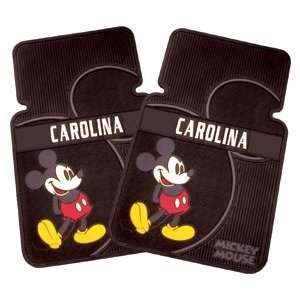 Personalized Retro Disney Mickey Mouse Car Mat Set