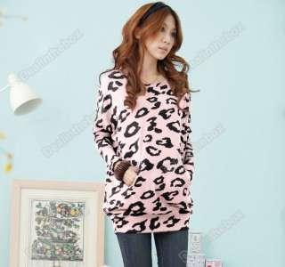 Womens Batwing Sleeve Tops Shirts Lips Pattern Print Blouse Vogue
