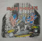 VINTAGE IRON MAIDEN SOMEWHERE IN NEW YORK SHIRT 1987 M