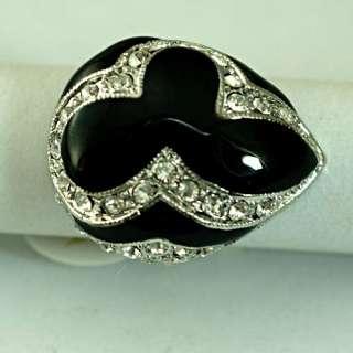 Ladys Teardrop 18K GP Wedding Gemstone Zircon CZ Ring Rings Jewelry