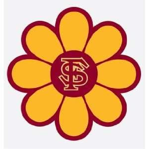 FLORIDA STATE SEMINOLES FLOWER vinyl decal sticker FSU
