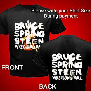 New Bruce Springsteen and the E Street Band Wrecking Ball Tour T Shirt