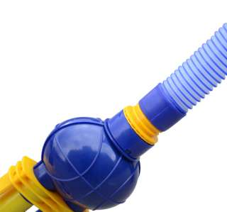 Inground Swimming Pool Cleaner Vacuum With 31FT Hose Blue Yellow