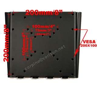 Plasma LCD Flat Panel Screen TV Wall Mount Bracket ba5
