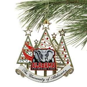 Alabama Crimson Tide Tree Logo Ornament
