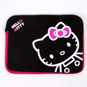 Hello Kitty Notebook Bag Laptop Softcase Black