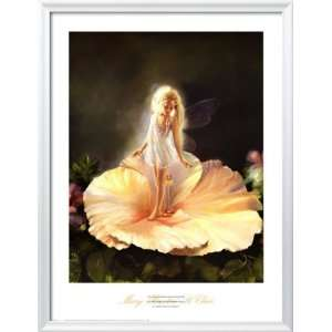 The Enchanted Flower Framed Art Poster Print by Mary Baxter St. Clair