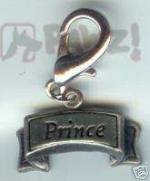 PRINCE Pewter Pet Jewelry Collar Charm Dog Cat Tag
