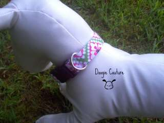 Doogie Couture Cara Bella Dog Collar Size Small