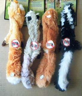 STUFFING FREE Dog Toy SMALL Critter  DOGS ARE CRAZY FOR