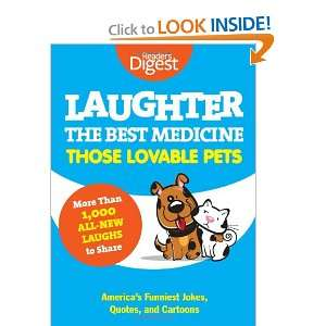 : Those Lovable Pets: Readers Digest Funniest Pet Jokes, Quotes