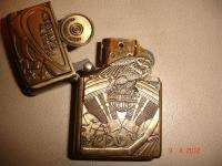 HARLEY DAVIDSON MOTORCYCLES BRASS ZIPPO LIGHTER, NEVER USED OR