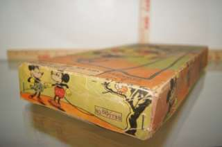 1930S NIFTY MICKEY AND MINNIE MOUSE ACROBATS MINT IN THE BOX RARE