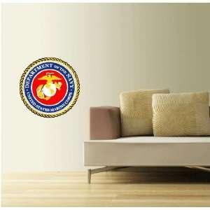 U.S. Marine Corps Seal Wall Decor Sticker 22 Everything
