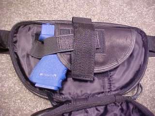 Concealment Leather Fanny Pack Small Colt Officer Defen