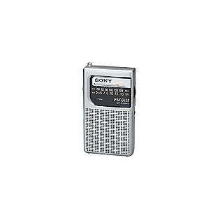 FM/AM 2 Band Pocket Radio, 1 radio  Sony Computers & Electronics
