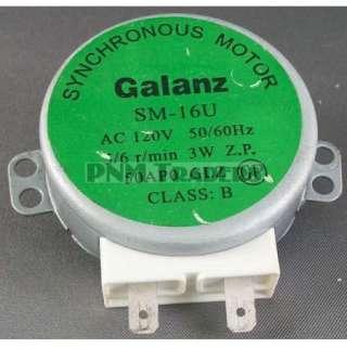 Galanz 120 VAC Microwave Synchronous Motor SM 16U