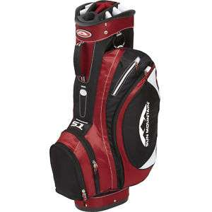 2011 Sun Mountain Golf S 1 Cart Bag   Black/Red