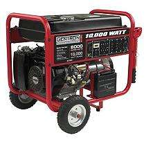 Gentron 10,000 Watt Gas Generator with Electric Start