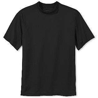 Golf Mockneck Tee Shirt  Reebok Clothing Mens Big & Tall Shirts