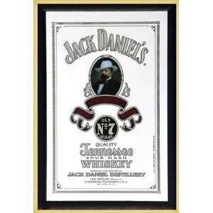 Bar Mirror (Mr. Jack Daniel) (Size 9 x 12)