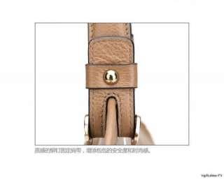 Real Cow Leather Bags Messenger Shoulder Bag Satchel Tote Handbags 175
