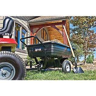 Cart 8 Cu Ft  Agri Fab Lawn & Garden Tractor Attachments Carts
