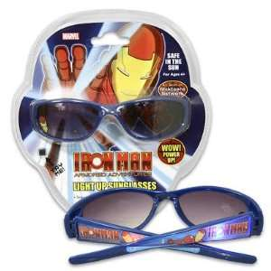 Marvel Iron Man Light Up Sunglasses Blue