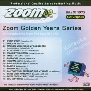 Zoom Karaoke CD+G   Golden Years 1975   15 Karaoke Hits Zoom