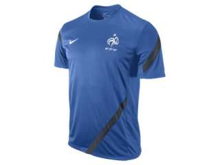 French Football Federation Mens Soccer Training Jersey