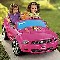 Power Wheels Fisher Price Barbie Ford Mustang   Power Wheels   Toys