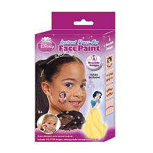 Instant Press On Face Paint   4 Designs   Disney Princess Snow White